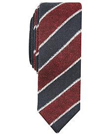 Original Penguin Men's MacDonald Skinny Stripe Knit Tie