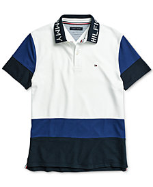 Tommy Hilfiger Adaptive Men's Bryant Polo Shirt with Magnetic Buttons