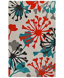 Surya Cosmopolitan COS-9197 Teal 5' x 8' Area Rug