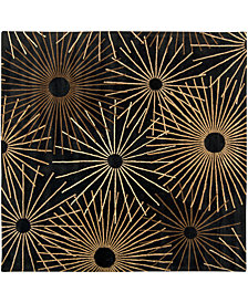 "Surya Forum FM-7090 Black 9'9"" Square Area Rug"