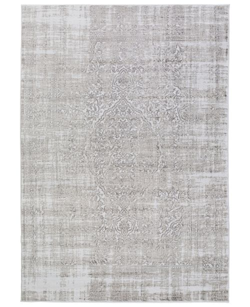 "Surya Nova NVA-3025 Medium Gray 2'2"" x 3' Area Rug"