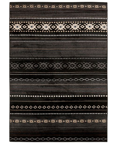 Surya Paramount PAR-1047 Black 2' x 3' Area Rug