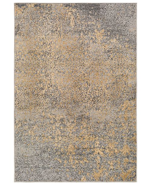 "Surya Paramount PAR-1074 Medium Gray 6'7"" x 9'6"" Area Rug"