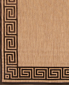 "Surya Portera PRT-1030 Dark Brown 18"" Square Swatch"