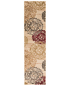 "Surya Riley RLY-5051 Butter 2' x 7'5"" Runner Area Rug"