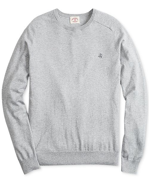Brooks Brothers Men's Cotton/Cashmere Blend Sweater