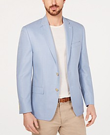 Men's Classic/Regular Fit UltraFlex Light Blue Sport Coat