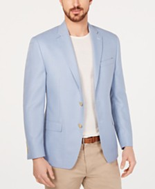 Lauren Ralph Lauren Men's Classic/Regular Fit UltraFlex Light Blue Sport Coat