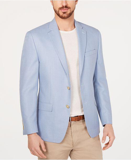 Lauren Ralph Lauren Men's Classic/Regular Fit UltraFlex Light Blue Sport Coat
