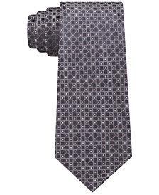 Michael Kors Men's Classic Neat Silk Tie