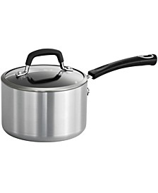Style Polished 2 Qt Covered Sauce Pan