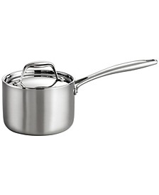 Gourmet Tri-Ply Clad 1.5 Qt Covered Sauce Pan