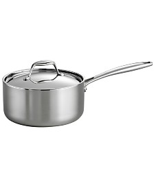 Tramontina Gourmet Tri-Ply Clad 3 Qt Covered Sauce Pan