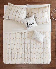 Intelligent Design Raina King/California King 5-Piece Comforter Set