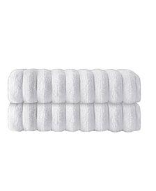 Enchante Home Vague 2-Pc. Bath Towels Turkish Cotton Towel Set