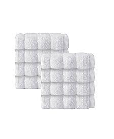 Enchante Home Vague 8-Pc. Wash Towels Turkish Cotton Towel Set