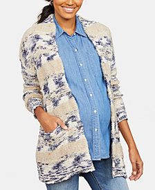 Motherhood Maternity Open-Front Cardigan