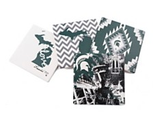 Michigan State University Spirit Thirstystone Coasters, Set of 4