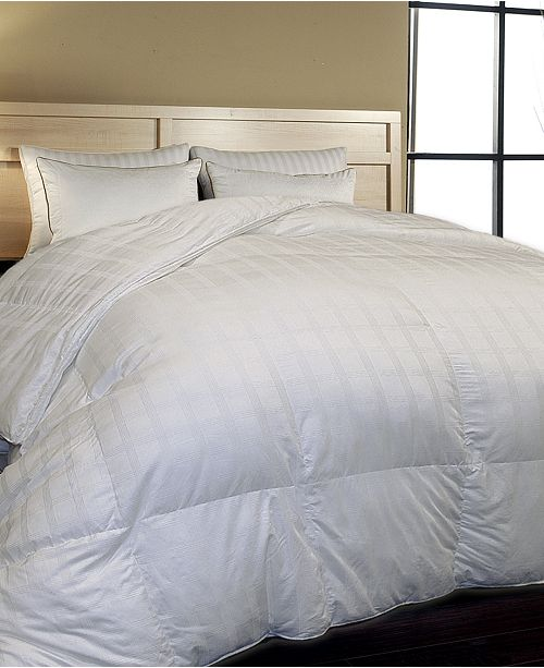 Blue Ridge 500 Thread Count Windowpane Duraloft® Down Alternative Comforter Collection