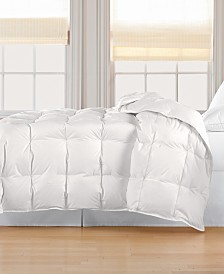 Blue Ridge 233 Thread Count Cotton White Down Comforter Collection