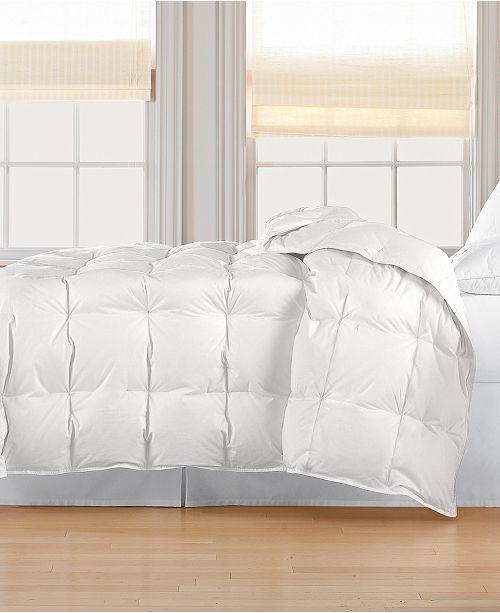 Blue Ridge 233 Thread Count Cotton White Down Comforter Collection