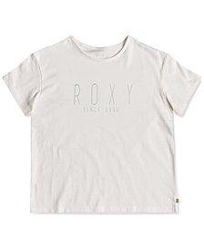 Roxy Big Girls Logo Cotton T-Shirt