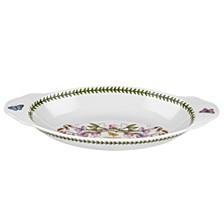 Botanic Garden Oval Baking Dish with Handles