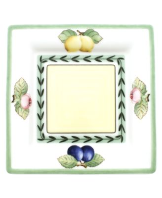 Dinnerware, French Garden Macon Square Bread and Butter Plate