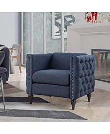 Bently Contemporary Tufted Accent Chair