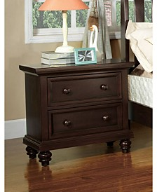 Klinnet Transitional Nightstand