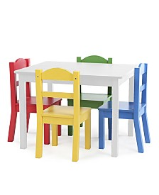 Heritage Club Primary Color Table and Chair Set