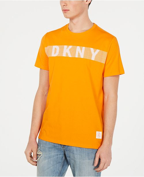 Dkny Men S Logo Graphic T Shirt Reviews T Shirts Men Macy S
