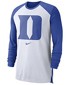 Nike Men's Duke Blue Devils Breathe Shooter Long Sleeve T-Shirt