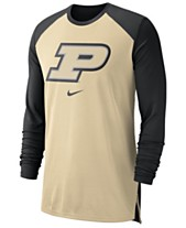 0736c84fc Nike Men's Purdue Boilermakers Breathe Shooter Long Sleeve T-Shirt