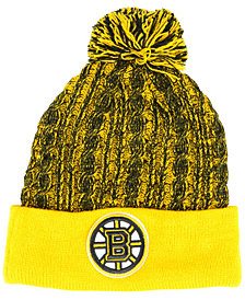 Authentic NHL Headwear Women's Boston Bruins Iconic Ace Knit Hat