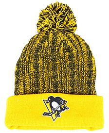 Women's Pittsburgh Penguins Iconic Ace Knit Hat