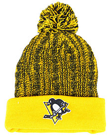 Authentic NHL Headwear Women's Pittsburgh Penguins Iconic Ace Knit Hat