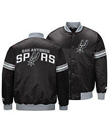 G-III Sports Men's San Antonio Spurs Draft Pick Starter Satin Jacket