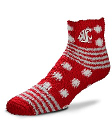 For Bare Feet Washington State Cougars Homegater Sleep Soft Socks