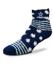 For Bare Feet Dallas Cowboys Homegater Sleep Soft Socks