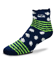 For Bare Feet Seattle Seahawks Homegater Sleep Soft Socks