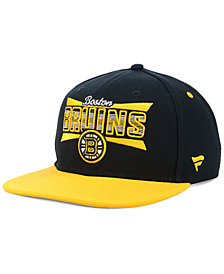 Authentic NHL Headwear Boston Bruins Combo Emblem Snapback Cap