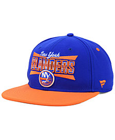 Authentic NHL Headwear New York Islanders Combo Emblem Snapback Cap