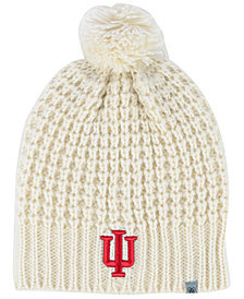Top of the World Women's Indiana Hoosiers Slouch Pom Knit Hat