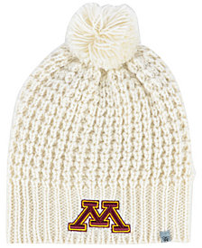 Top of the World Women's Minnesota Golden Gophers Slouch Pom Knit Hat
