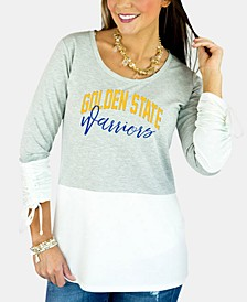 Women's Golden State Warriors Embellished Tunic Top