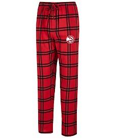 Concepts Sport Men's Atlanta Hawks Homestretch Flannel Sleep Pants