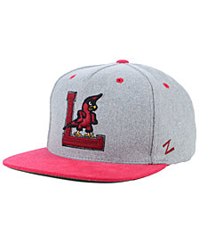 Zephyr Louisville Cardinals Foundation Snapback Cap