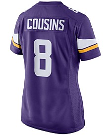 Women's Kirk Cousins Minnesota Vikings Game Jersey