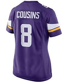 Nike Women's Kirk Cousins Minnesota Vikings Game Jersey